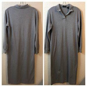 J.Crew Polo Shirt Dress SZ M